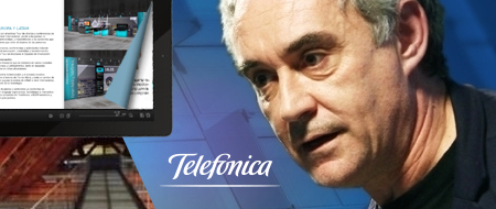 Telefónica and Ferrán Adriá: 2014-2016 Projects
