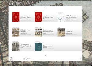 Quiosco Quijote interactivo – Biblioteca Nacional de España