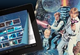 Album de cromos de Star Wars (original de 1977)