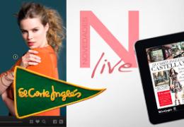 Novedades Live, la revista interactiva de moda de El Corte Inglés