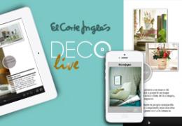 DecoLive, la revista interactiva de decoración y hogar de El Corte Inglés