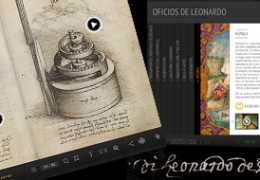 BNE (Spanish National Library): Interactive Leonardo
